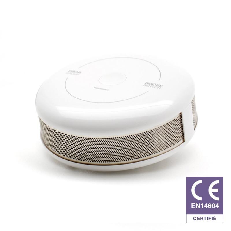 FIBARO - Détecteur de fumée Z-Wave Plus Fibaro Smoke Sensor FGSD-002