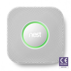 NEST Protect S2004BW Détecteur de fumée et monoxyde de carbone à piles