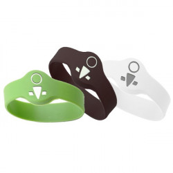 OKIDOKEYS Badges bracelets x3