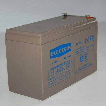 ELECKSON Batterie 12V 7.2 AH
