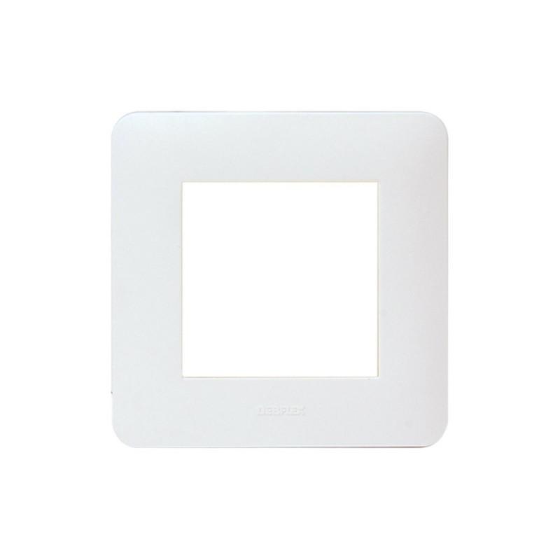 UBIWIZZ Plaque de finition 2M ubi'switch Blanc