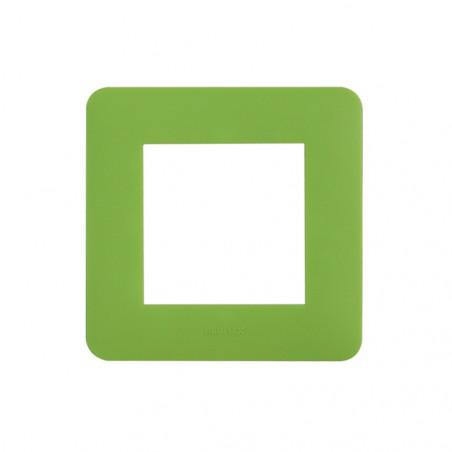 UBIWIZZ Plaque de finition 2M ubi'switch Vert