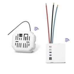 EDISIO - Pack Dimmer - Va et vient sans fil dimmer (avec neutre)