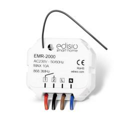 EDISIO - Récepteur 868,3 MHz Marche/Arrêt ou Impulsionnel - 10A MAX