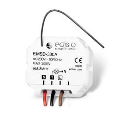 EDISIO - Récepteur 868,3 MHz Marche/Arrêt/Dimmer - sans neutre