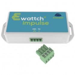 EWATTCH - IMPULSE capteur 2 en 1, téléinformation et impulsion