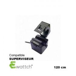 EWATTCH - pince de mesure pour SUPERVISEUR - 10 mm (50A max) 120 cm