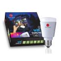 NEW DEAL - Kit de 3 Ampoules Led RGB 9W pilotables en Wi-Fi
