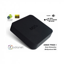 ZODIANET - Box Domotique et lecteur multimédia ZiBASE TVBOX