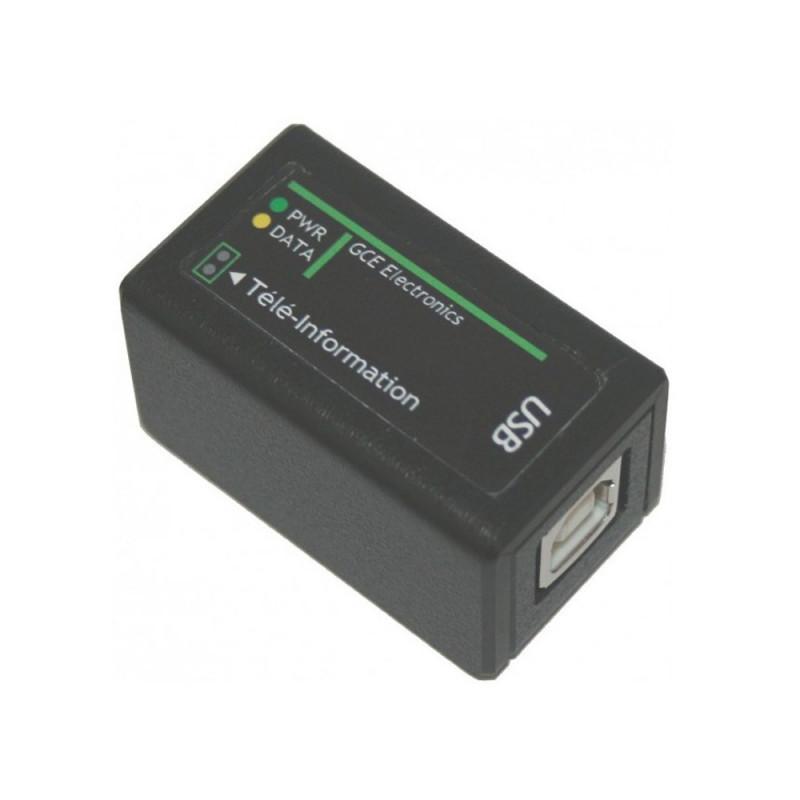 CARTELECTRONIC Interface Téléinformation USB pour 2 Compteurs
