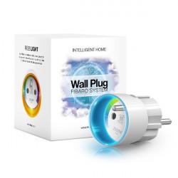 FIBARO - Module prise commutateur et consomètre Z-Wave Fibaro Wall Plug FGWPE-102, FR