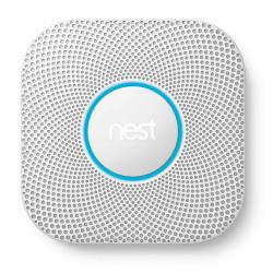 GOOGLE NEST - Détecteur de fumée et monoxyde de carbone Google Nest Protect à piles