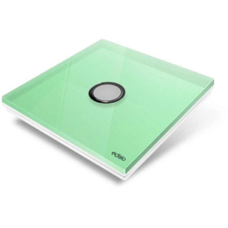 EDISIO - Plaque de recouvrement Diamond - Vert Clair 1 Touches