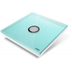 EDISIO - Plaque de recouvrement Diamond - Bleu Clair 1 Touches