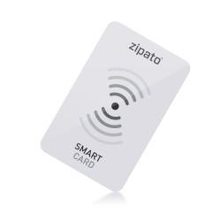 ZIPATO - Carte RFID Blanche