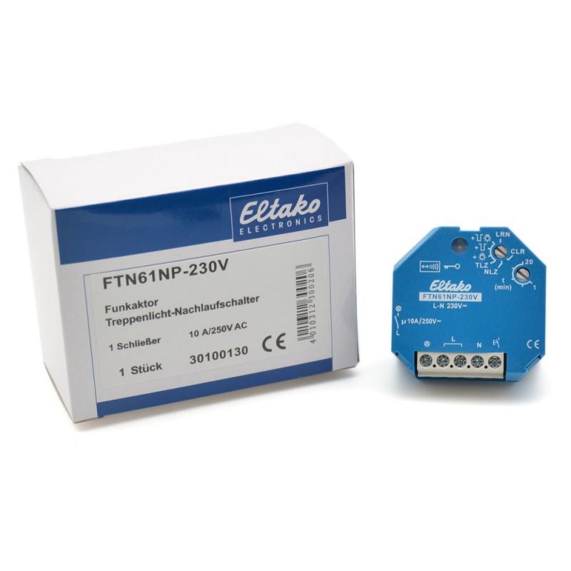 ELTAKO Wireless actuator staircase off - delay timer