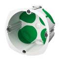 SCHNEIDER Boîte d'encastrement étanche Multifix Air 1 poste diamètre 67mm