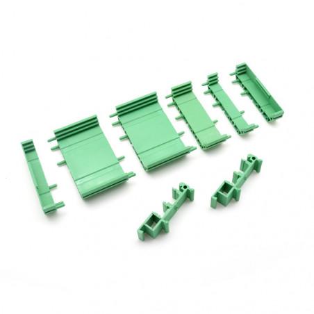 WIFIPOWER - Boitier Rail DIN pour carte ETH_IO32 Basic