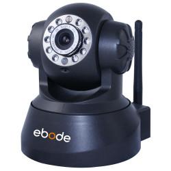 EBODE Caméra IP WiFi Pan/Tilt avec vision de nuit