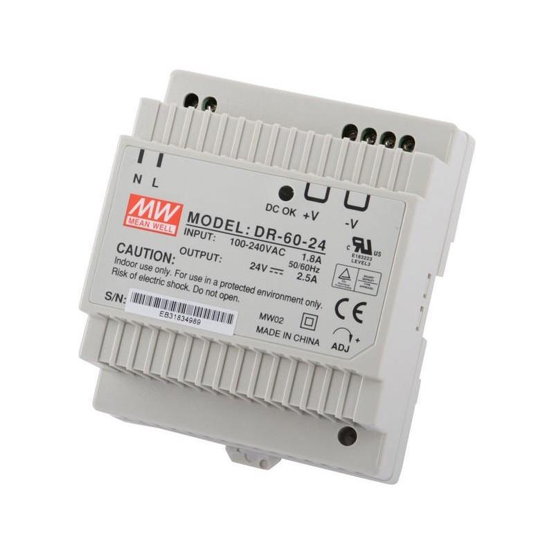 GCE ELECTRONICS - Rail Din 24V Power Supply