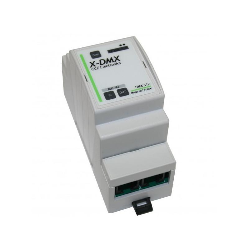 GCE ELECTRONICS - XDMX DMX512 expansion for IPX800 V4