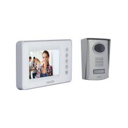 CHACON - Videophone filaire (4 fils/mains libres) avec écran blanc 4.3 P