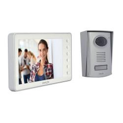 CHACON - Videophone filaire (4 fils/mains libres) avec écran blanc 7 P