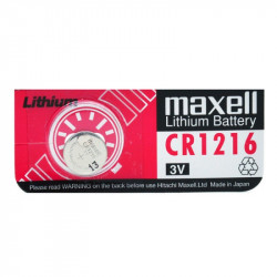 MAXELL - Pile bouton lithium blister CR1216