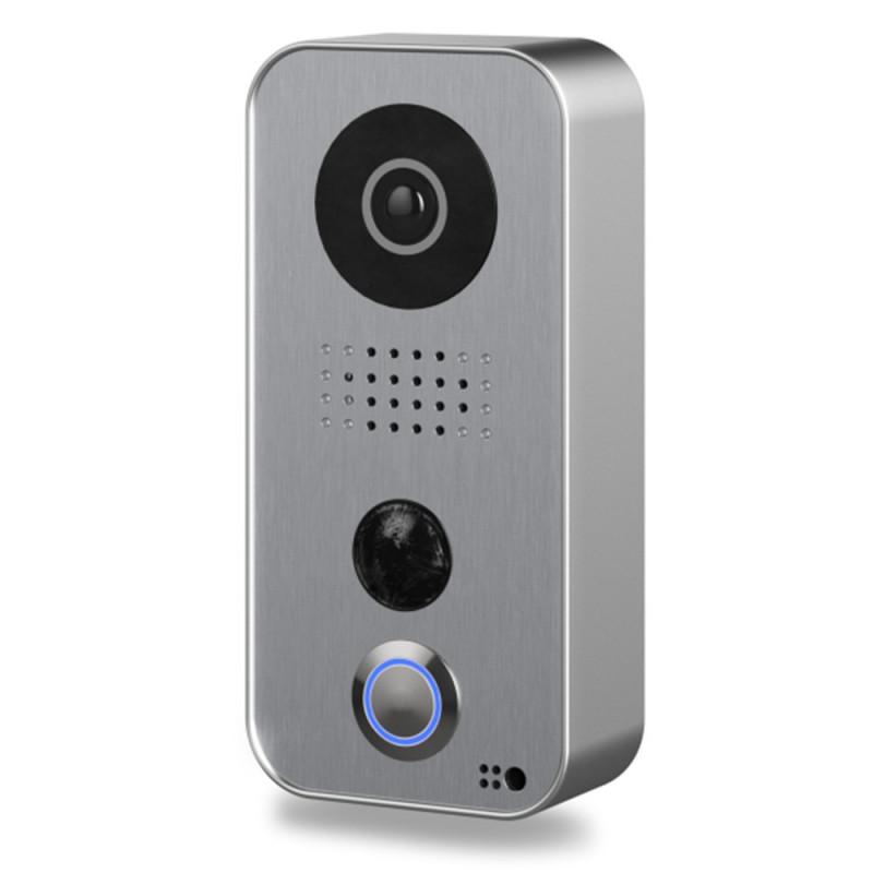 DOORBIRD - Portier vidéo connecté D101S (Strato-Silver Edition)