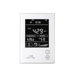 MCOHOME - Capteur d'humidité, température et Co2 avec écran Z-Wave+ (12VDC)