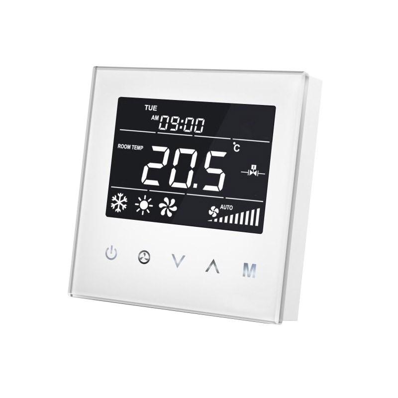 MCOHOME - Thermostat pour ventilo-convecteur 4 tubes Z-Wave+