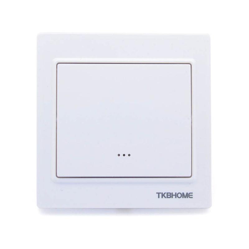 TKB HOME Interrupteur simple Z-Wave+ Blanc