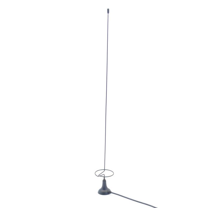 Antenne 433MHz avec base magnétique et connecteur SMA