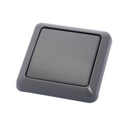 DiO - Interrupteur sans fil IP44 gris