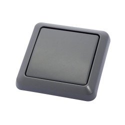 DiO - Wall Switch IP44 Grey