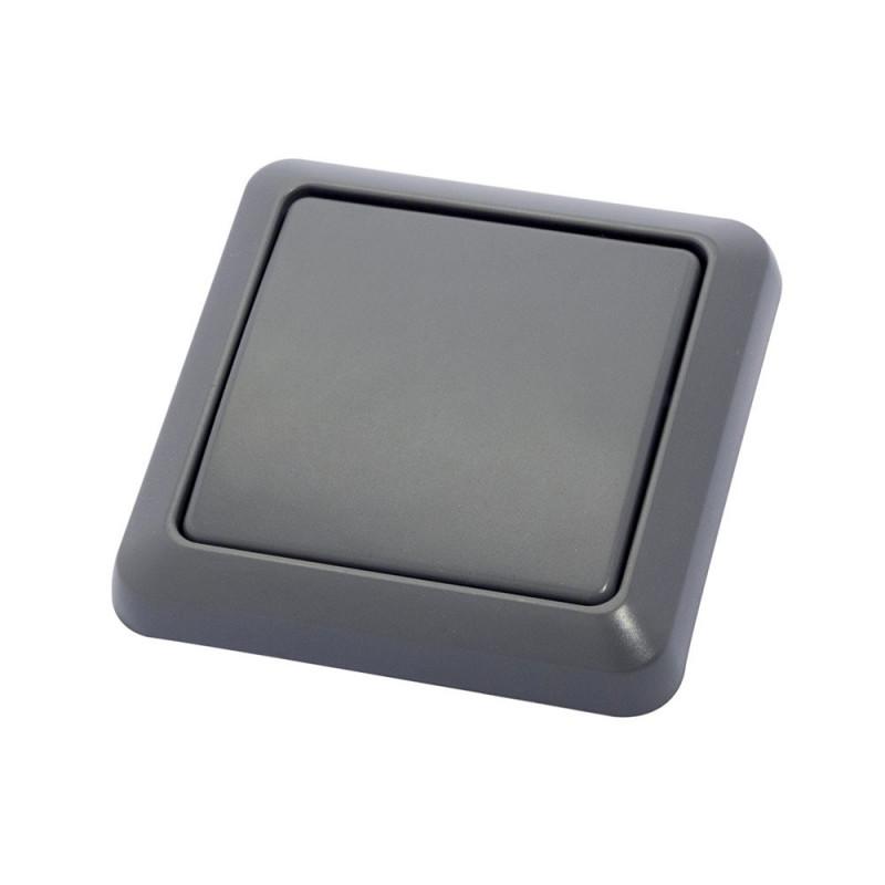 DiO - Wall Switch IP44 Grey