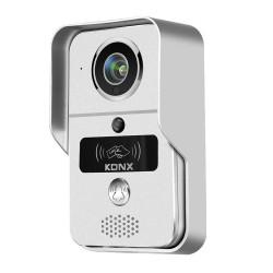 KONX - Portier vidéo WiFi ou Ethernet 720P avec lecteur RFID