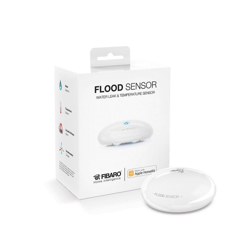 FIBARO - Détecteur d'inondation Bluetooth Fibaro Flood Sensor compatible Apple HomeKit