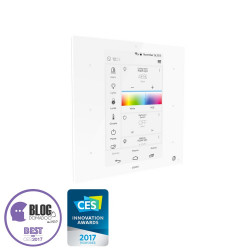 ZIPATO - Wall controller all-in-one Zipatile, white