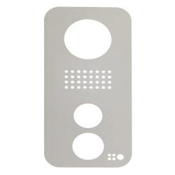 DOORBIRD - Plaque frontale pour Doorbird D10x, Edition acier inoxydable