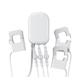 AEOTEC - Compteur de consommation électrique Z-Wave+, 3 pinces, 60A