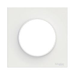 SCHNEIDER ELECTRIC Plaque de finition BLANC pour interrupteur ODACE