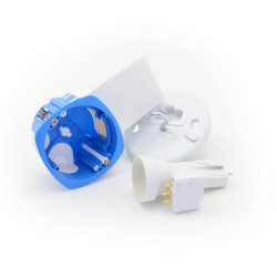 BLM - Boitier d'encastrement pour Micromodule (version Point de Centre + FDE27)