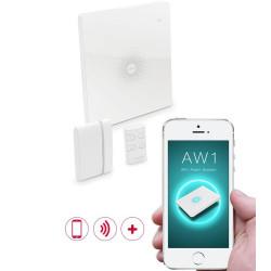 CHACON - Système d'alarme Wifi sans fil tactile