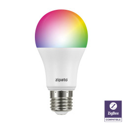 ZIPATO - Ampoule LED RGBW Zigbee v2
