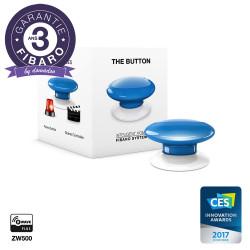 FIBARO - Contrôleur de scènes Fibaro Button Z-Wave+, bleu