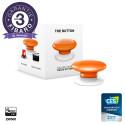 FIBARO - Contrôleur de scènes Fibaro Button Z-Wave+, orange