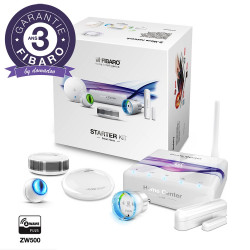 FIBARO - Pack de démarrage domotique Z-Wave+ STARTER KIT EU