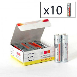 ENIX ENERGIES Boite 10 piles Alcaline LR03 NX 1,5V 1,46Ah