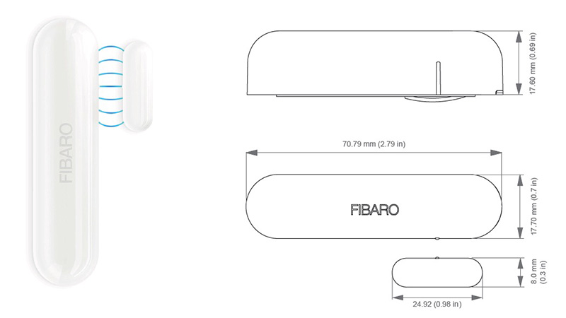 Fibaro Door Window Sensor 2